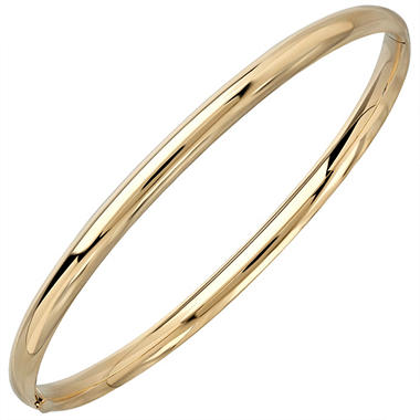 "7"" Bangle in 14K Yellow Gold"