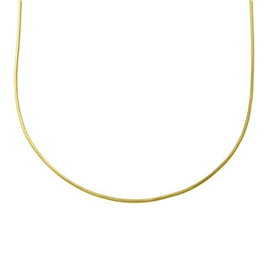 "18"" 14K Yellow Gold Snake Chain"