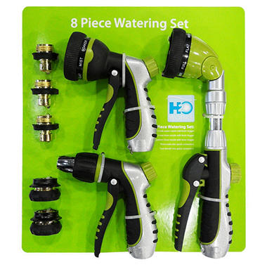 H2O Works Watering Set - 8 pc.