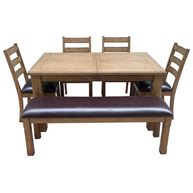 Jackson Weathered Dining Set - 6pc..