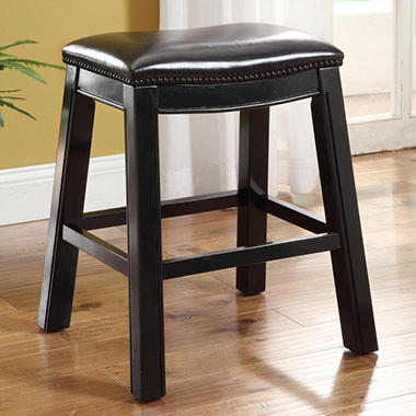 "Wyatt Saddle 24"" Barstool - 2 pk."