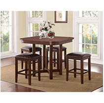 Click here for Athena 5 Piece Counter Height Pub Set with Game Bo... prices