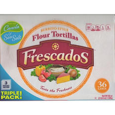 Frescados Flour Tortillas, Burrito Style (8 in., 36 ct.)
