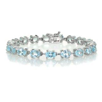 Tennis Bracelet in Sterling Silver