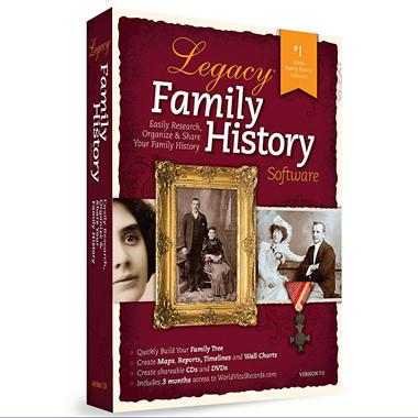 Legacy Family History
