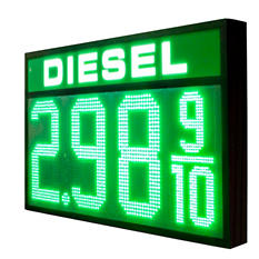Gas Station Price Changer - Diesel