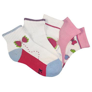 Keds 5 Pack Socks for Boys and Girls