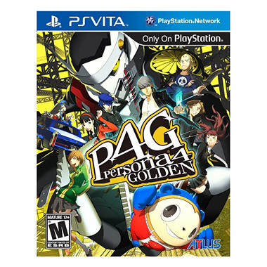 Persona 4 Golden - PS Vita