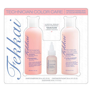 Fekkai Technician Color Care Shampoo/Conditioner with Bonus Glaze