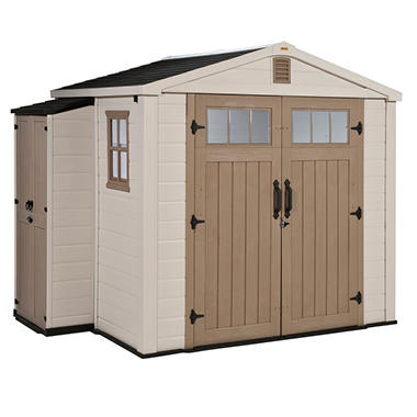 Infinity 8' x 6' Resin Storage Shed