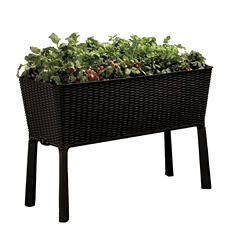 Keter Easy Grow Elevated Flower Garden Planter