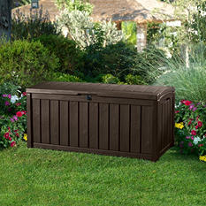 Keter Glenwood 103 Gallon Wood Look Deck Box