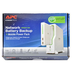 APC Back-UPS Connect, Network UPS and Mobile Power Pack with Bonus Mobile Power Pack