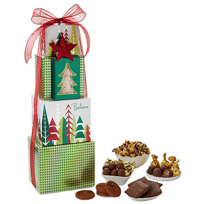 Tower of Holiday Treats (Choose your Style)