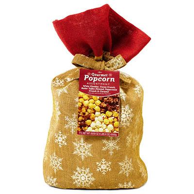 Burlap Popcorn Bag, 5 Flavors  (3 lbs. 5 oz.)