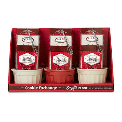 Cookie Exchange Mixing Bowl Gift Set (3 pk.)