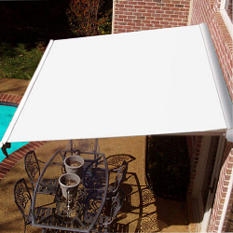 "12' Beauty-Mark® Destin® Manual Awning - 10'-2"" Proj."