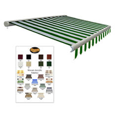 """18 ft. Laguna® Manual Retractable Awning 10"""" 2"""" Projection"""
