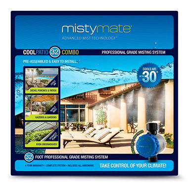 Misty Mate Cool Patio 32' Outdoor Mist System