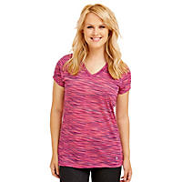 Bally Total Fitness Printed Space Dye Tee (Assorted Colors)