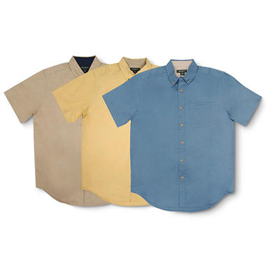 Solid Twill Shirt - Various Colors
