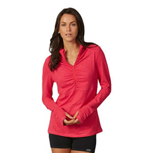 The Balance Collection Embossed 1/4 Zip Jacket (Assorted Colors)