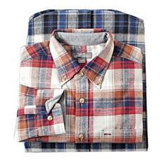 Eddie Bauer Men's Plaid Flannel Shirt (Assorted Colors)