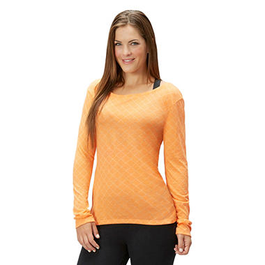 Bally Total Fitness Long Sleeve Embossed Tee