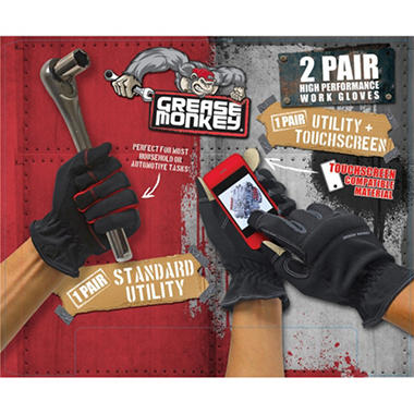 Grease Monkey - Utility Glove - 2 Pack