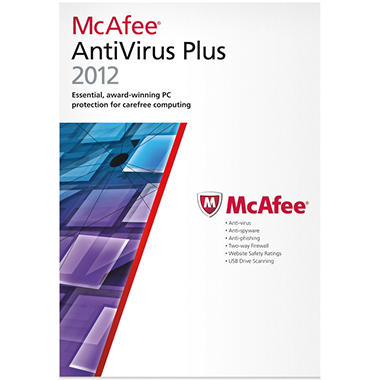 McAfee AntiVirus 2012 3U - PC