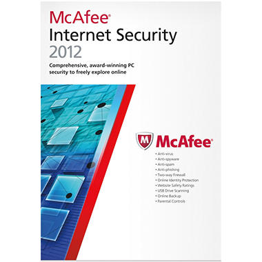 McAfee Internet Security 2012 1U - PC