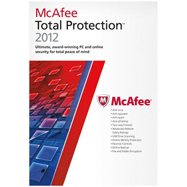 McAfee Total Protection 2012 1U - PC