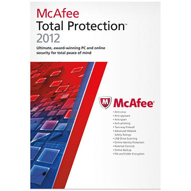 McAfee Total Protection 2012 3U - PC
