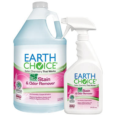 Earth Choice BioStain & Odor Remover - 1 gal. w/24 oz. Sprayer