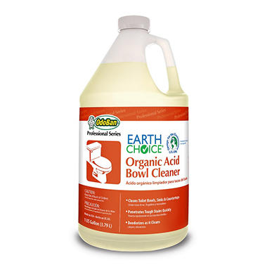 Earth Choice Organic Acid Bowl Cleaner - 1 Gallon