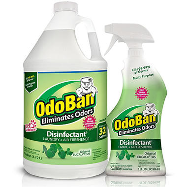 Odoban Liquid Combo - Eucalytpus - 1 Gallon + 32 oz.