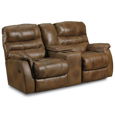 Lane Furniture Branyon Top Grain Leather Dual Reclining Power Loveseat Sam 39 S Club