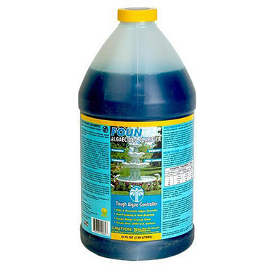 Fountec Fountain Algaecide Clarifier - � Gallon