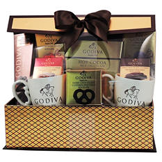 Godiva Cocoa and Chocolates Gift Set