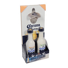 Corona Hanging Bottle Opener with Original and Lime Salt (12 oz.)