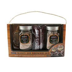 Hershey's Mason Jar Brownie Set