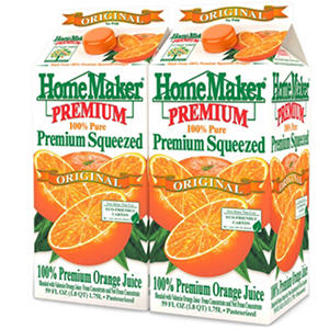 Homemaker Orange Juice - 2/59 oz.