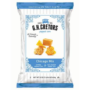 G.H. Cretors Chicago Mix Popped Corn - 22 oz.