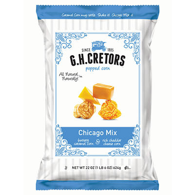 G.H. Cretors Chicago Mix Popped Corn - 22 oz.