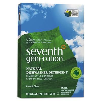 Seventh Generation Free & Clear Natural Dishwasher Detergent (45 oz.)