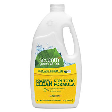 Seventh Generation Natural Automatic Dishwashing Gel - Lemon Scent - 45 oz.