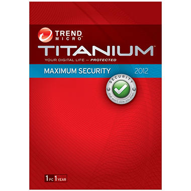 Trend Micro Titanium Maximum Security - 1 User - PC