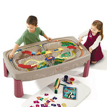 Step 2 Deluxe Canyon Road Track & Train Table