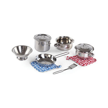 Step 2 Cooking Essentials Stainless Steel Set - 10 pc.