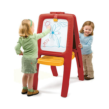 Step 2 Red Easel for Two